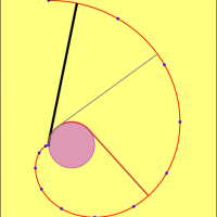 involute clock rotated